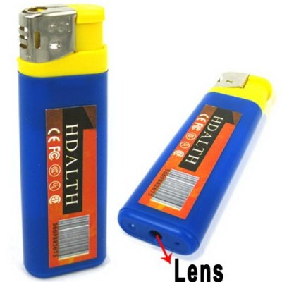 Lighter Spy Camera with PC Camera Function Supports TF Card